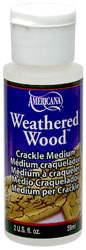 Weathered Wood Crackle Medium