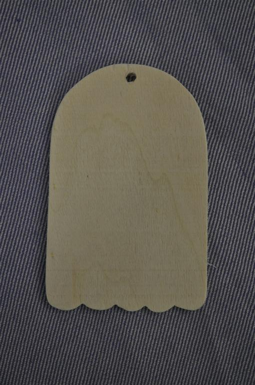 Scalloped tag piccola