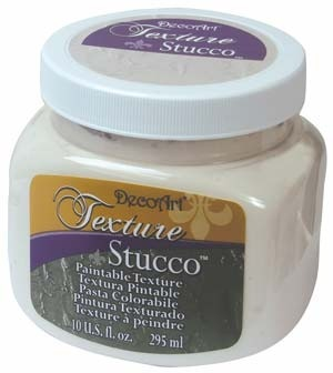 Texture - Paintable stucco Decoart 10 oz