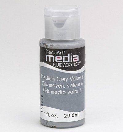 Medium Grey Antiquing Cream - Media DecoArt