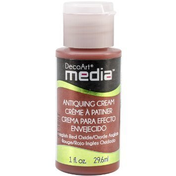 English Red Oxide Antiquing Cream - Media DecoArt