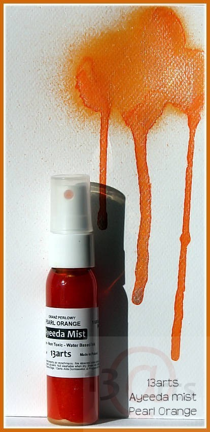 Ayeeda Pearl Mist - Orange