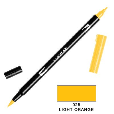 Tombow Marker a 2 punte - Light Orange 025