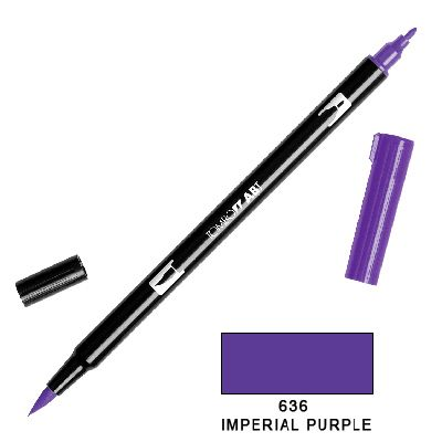 Tombow Marker a 2 punte - Imperial Purple 636