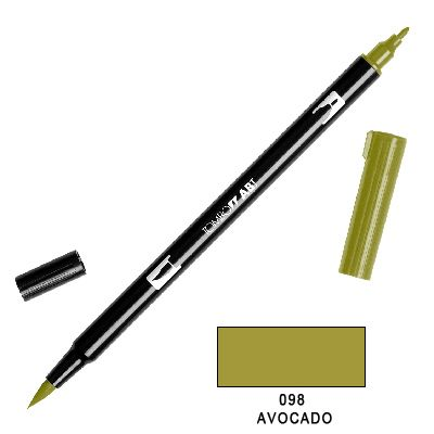 Tombow Marker a 2 punte - Avocado 098