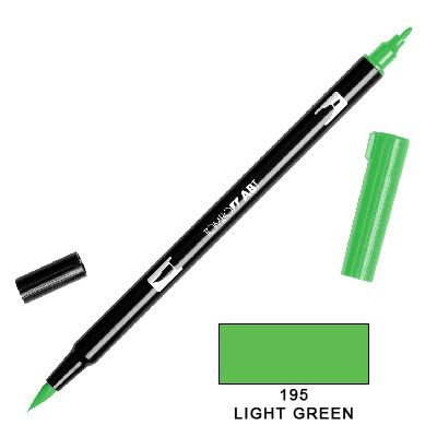 Tombow Marker a 2 punte - Light Green 195