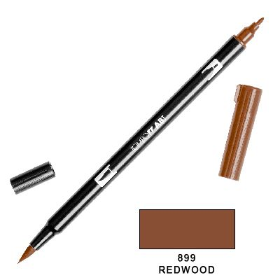 Tombow Marker a 2 punte - Redwood 899