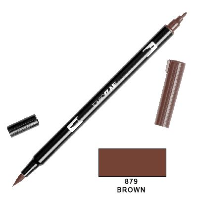 Tombow Marker a 2 punte - Brown 879