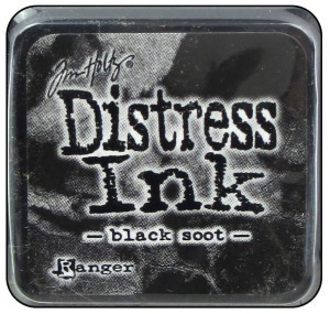 Distress Ink Mini - Black Soot