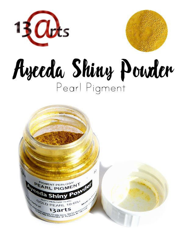 Gold Pearl - Ayeeda Shiny Powder 13 Arts