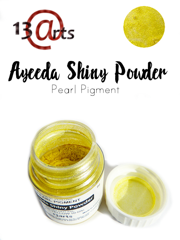 Yellow - Ayeeda Shiny Powder 13 Arts