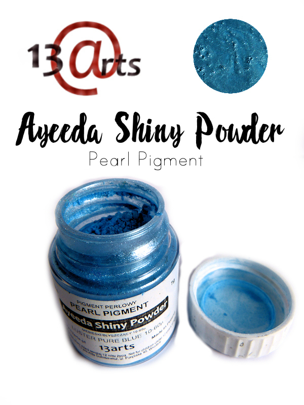 Luster Blue - Ayeeda Shiny Powder 13 Arts