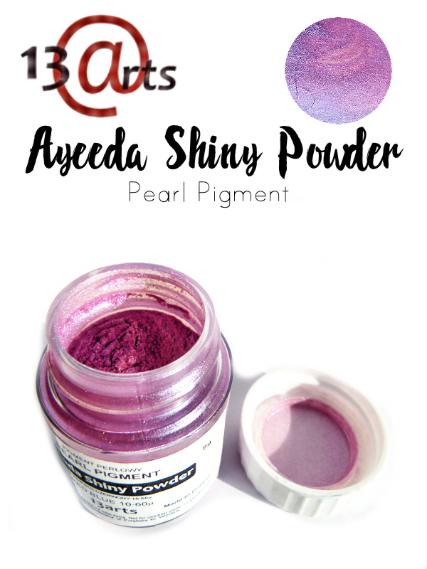 Red Blue - Ayeeda Shiny Powder 13 Arts
