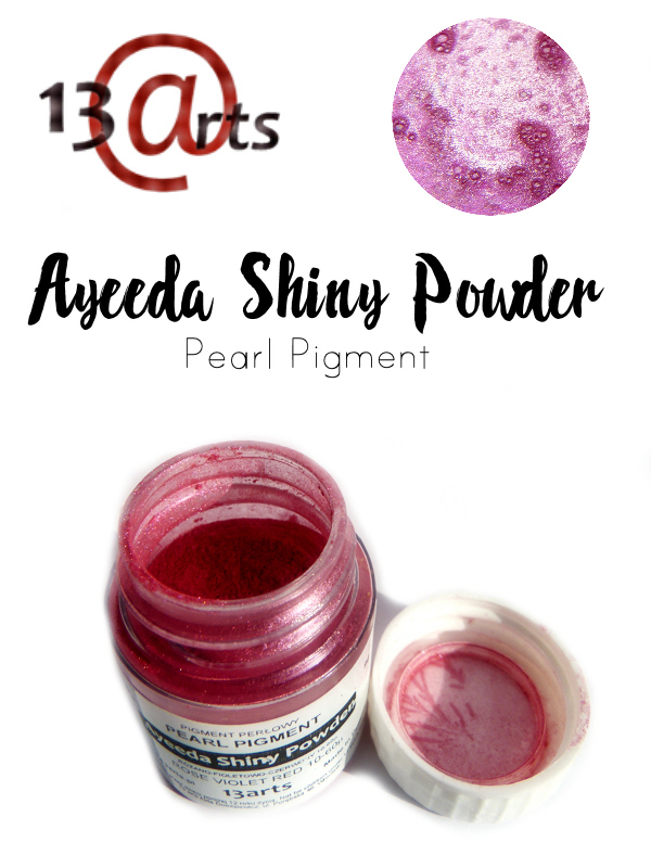Rose Violet Red - Ayeeda Shiny Powder 13 Arts