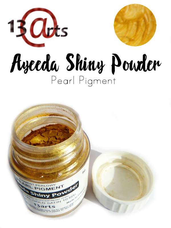 Royal Gold Satin - Ayeeda Shiny Powder 13 Arts