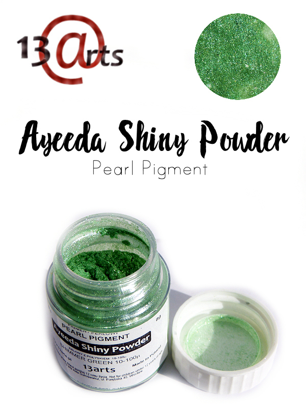 Shimmer Green - Ayeeda Shiny Powder 13 Arts