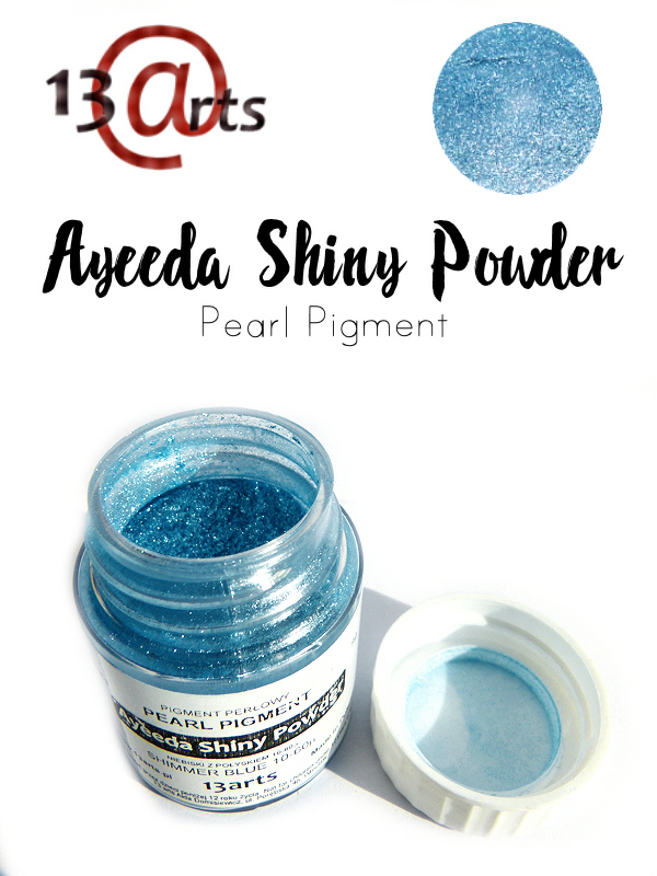Shimmer Blue - Ayeeda Shiny Powder 13 Arts