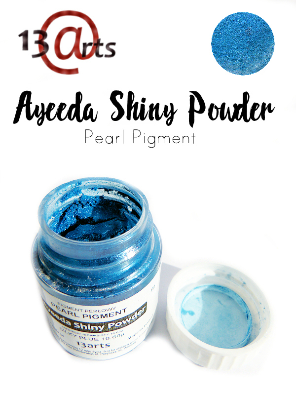 Silky Blue - Ayeeda Shiny Powder 13 Arts