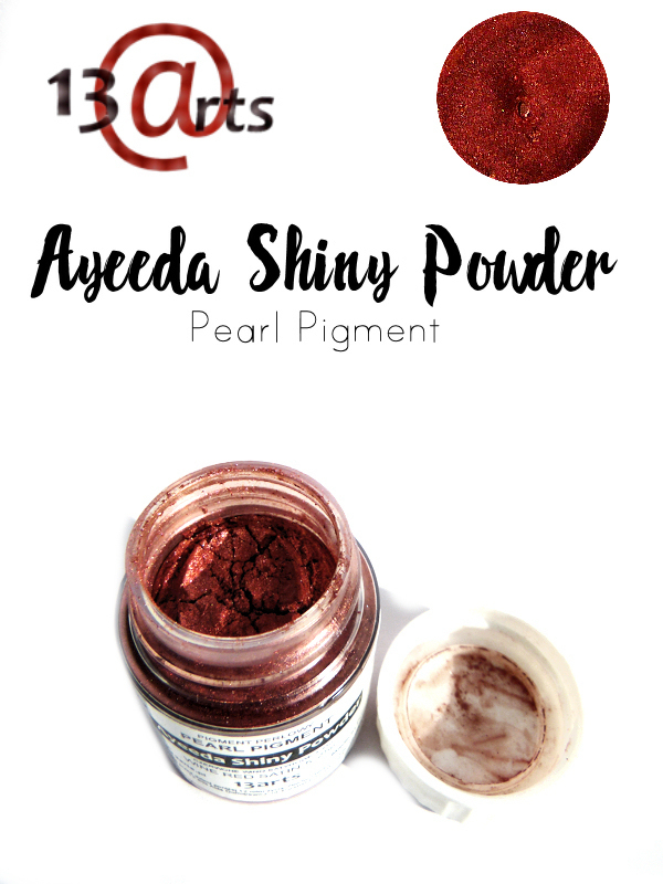 Wine Red Satin - Ayeeda Shiny Powder 13 Arts