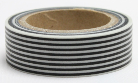 Washi tape - Black belts
