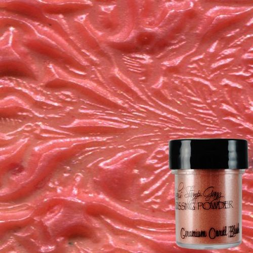 Geranium Coral Blush - Lindy's Embossing Powder