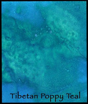 Tibetan Poppy Teal - Lindy's Magical Powder