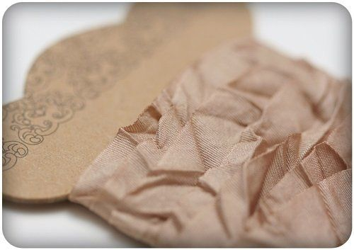 Nastro ScrapBerry's Shabby Ribbon - Light Brown