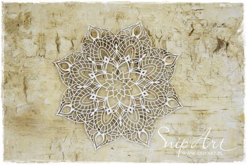 Chipboard - mandala 2