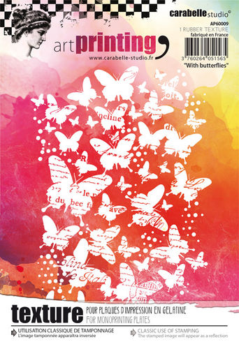 Art Printing A6 : With butterflies - Carabelle Studio