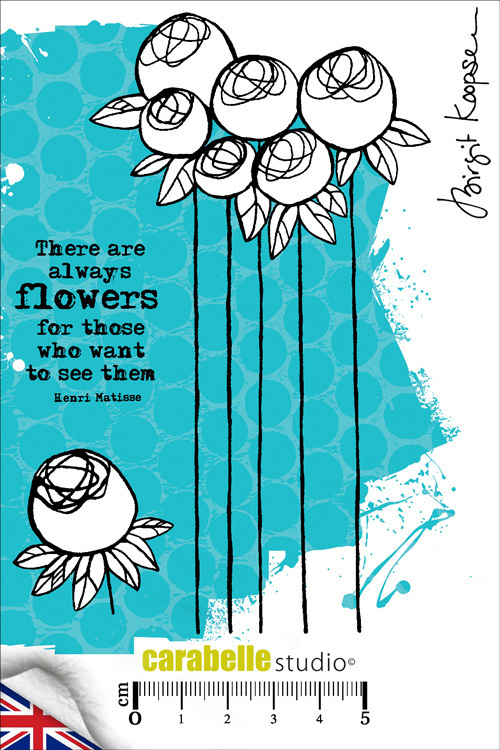 Cling Stamp A6 : There are always flowers by B. Koopsen - Carabelle Studio