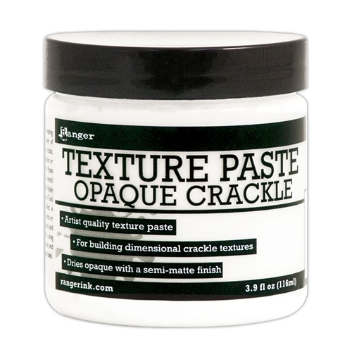 Texture Paste Opaque Crackle - Ranger
