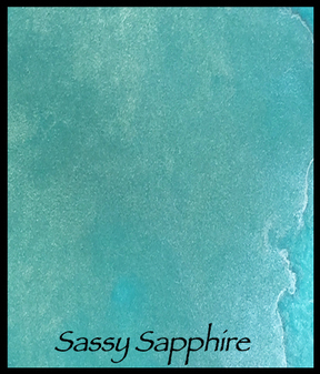 Sassy Sapphire - Lindy's Magical Powder