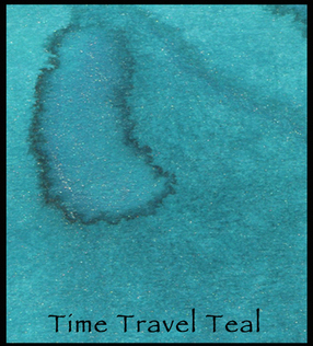 Time Travel Teal - Lindy's Magical Powder