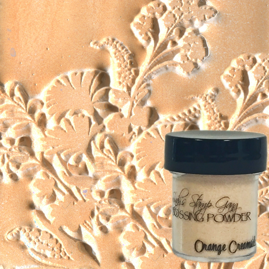Orange Creamsicle - Lindy's Embossing Powder