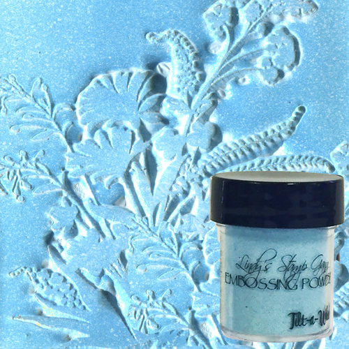 Tilt-a-wheel Teal - Lindy's Embossing Powder
