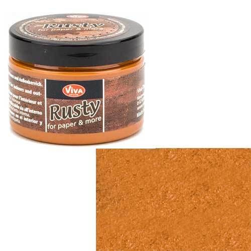 Rusty for Paper and More - colore Rust Orange
