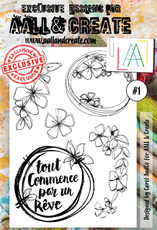 Stamp #1 - AALL & Create