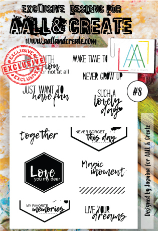 Stamp #8 - AALL & Create