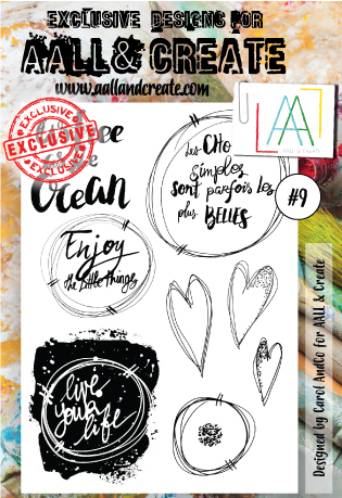 Stamp #9 - AALL & Create