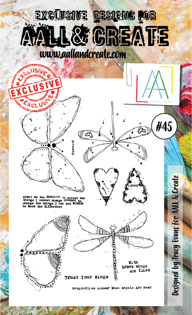 Stamp #45 - AALL & Create