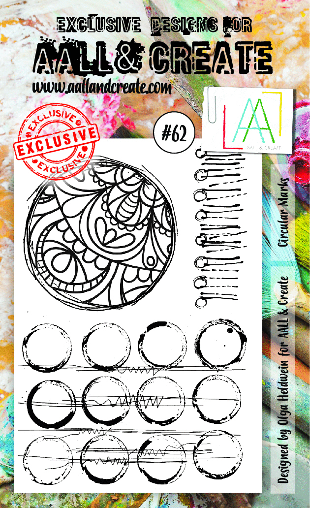 Stamp #62 - AALL & Create
