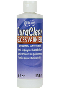 DuraClear Gloss Varnish - 8 oz