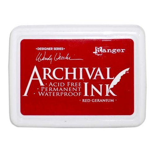 Archival Ink - Red Geranium