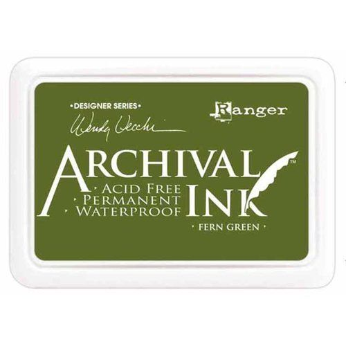 Archival Ink - Fern Green