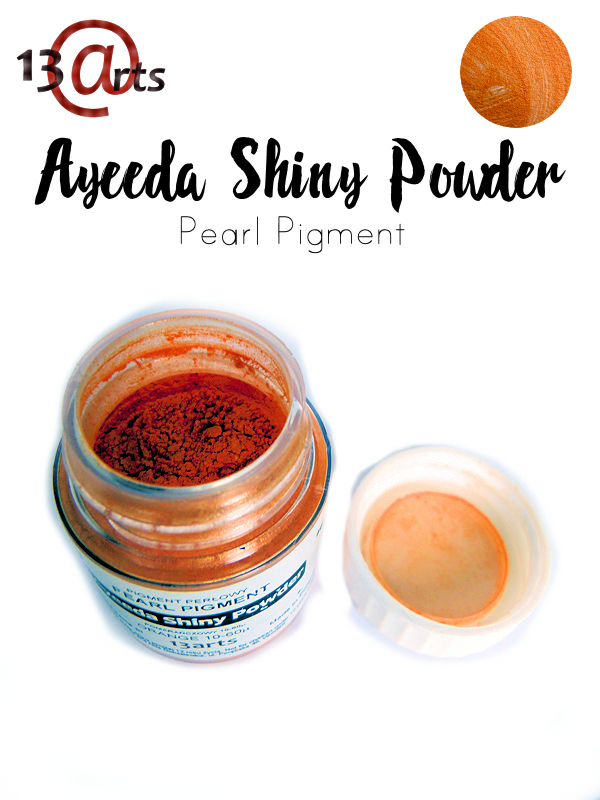 Orange - Ayeeda Shiny Powder 13 Arts
