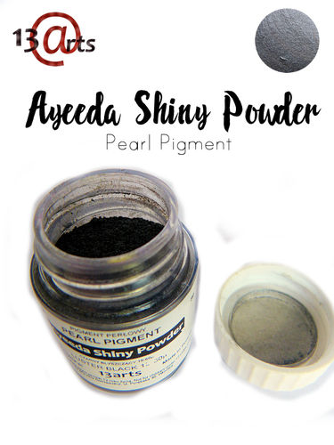 Luster Black - Ayeeda Shiny Powder 13 Arts