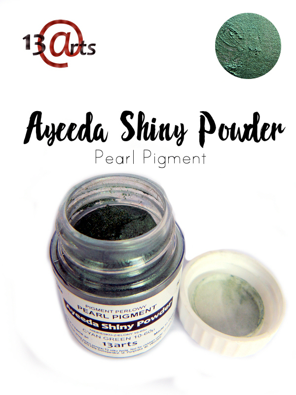 Cyan Green - Ayeeda Shiny Powder 13 Arts