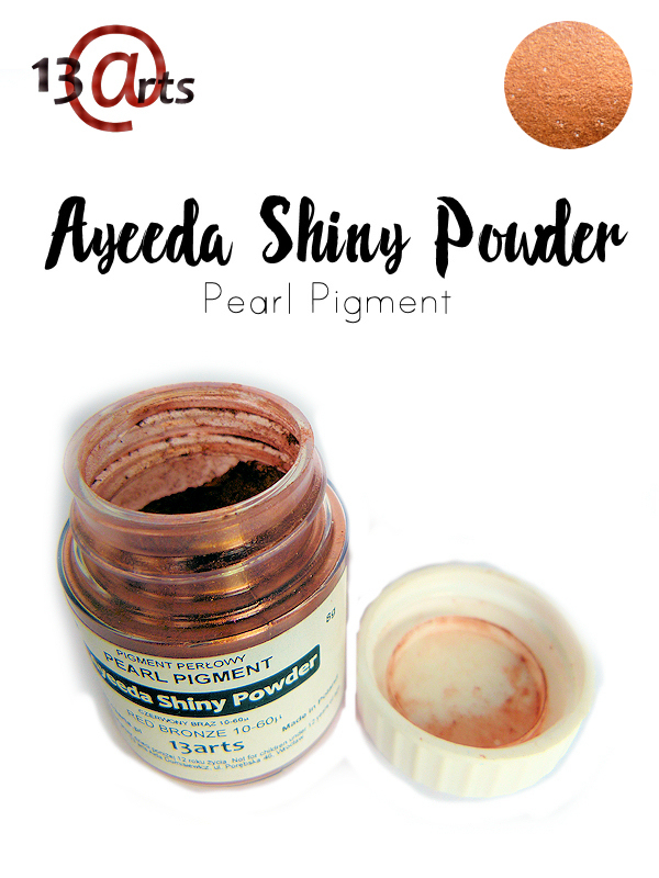 Red Bronze - Ayeeda Shiny Powder 13 Arts