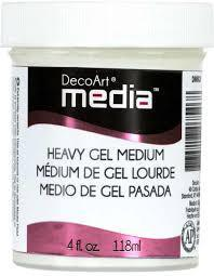 Heavy Gel Medium - Media Decoart