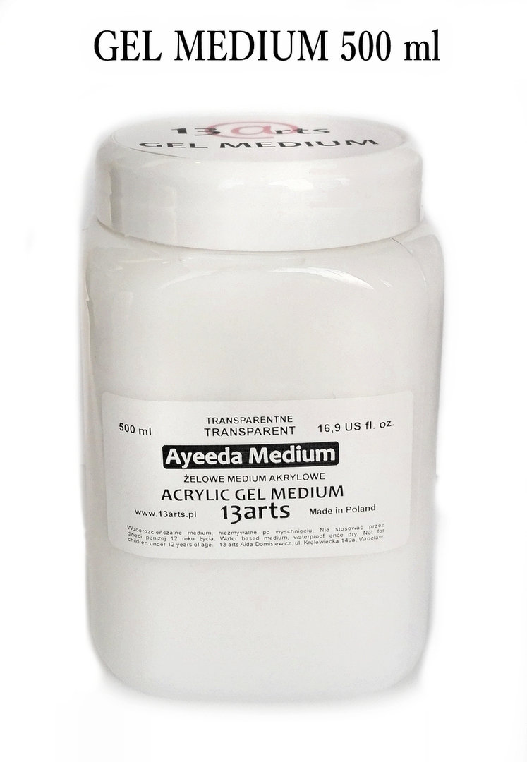 Gel Medium - 13Arts - 500ml